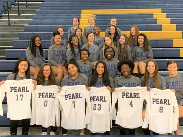 2020-2021 PHS Volleyball Team